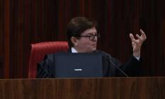 O ministro Herman Benjamin, relator do processo de julgamento da chapa Dilma-Temer no TSE Foto: Ailton Freitas / O Globo