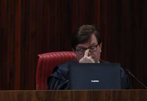 Começa o julgamento da chapa Dilma-Temer no TSE Foto: Ailton Freitas / O Globo