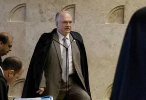 O ministro Edson Fachin, relator dos processos da Operação Lava-Jato Foto: Jorge William / Agência O Globo 16/03/201