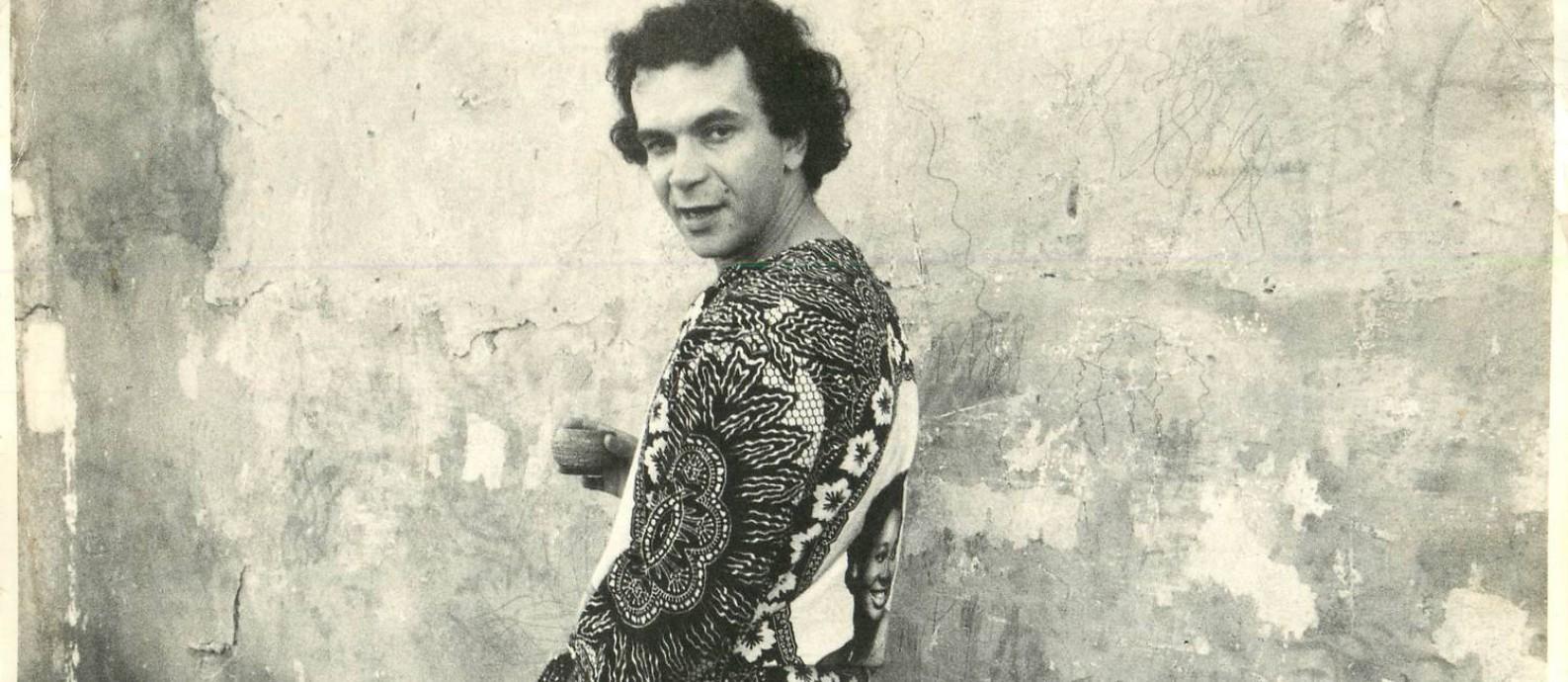 Gramiro de Matos: tropicalista esquecido volta às livrarias Foto: Mario Cravo Neto / Acervo pessoal
