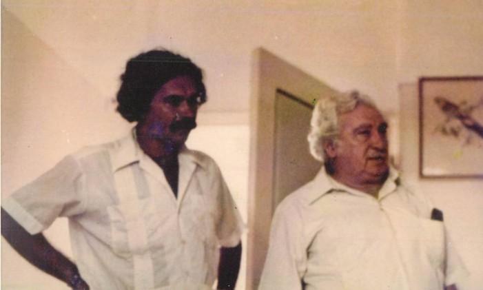 SC - Gramiro de Matos e Jorge Amado Foto: Glauber Rocha / Acervo pessoal