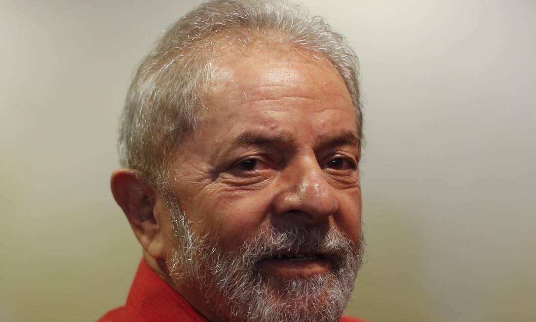 O ex-presidente Luiz Inácio Lula da Silva - 24/03/2017 Foto: Edilson Dantas/Agência O Globo