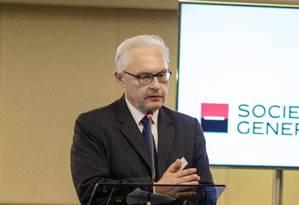 Francis Repka, diretor-executivo no Brasil do banco francês Société Générale Foto: Divulgação