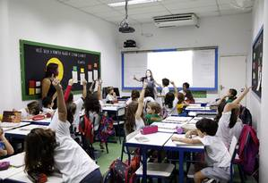 Base contraria o que está descrito no Plano Nacional de Educação Foto: Fabio Rossi / Agência O Globo