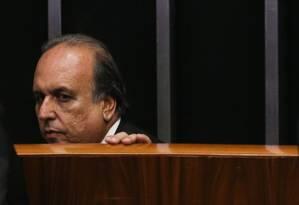 O governador do Rio, Luiz Fernando Pezão Foto: André coelho / Agência O Globo 05/04/2017