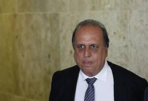 O governador do Rio, Luiz Fernando Pezão Foto: Ailton de Freitas / Agência O Globo Marco Grillo