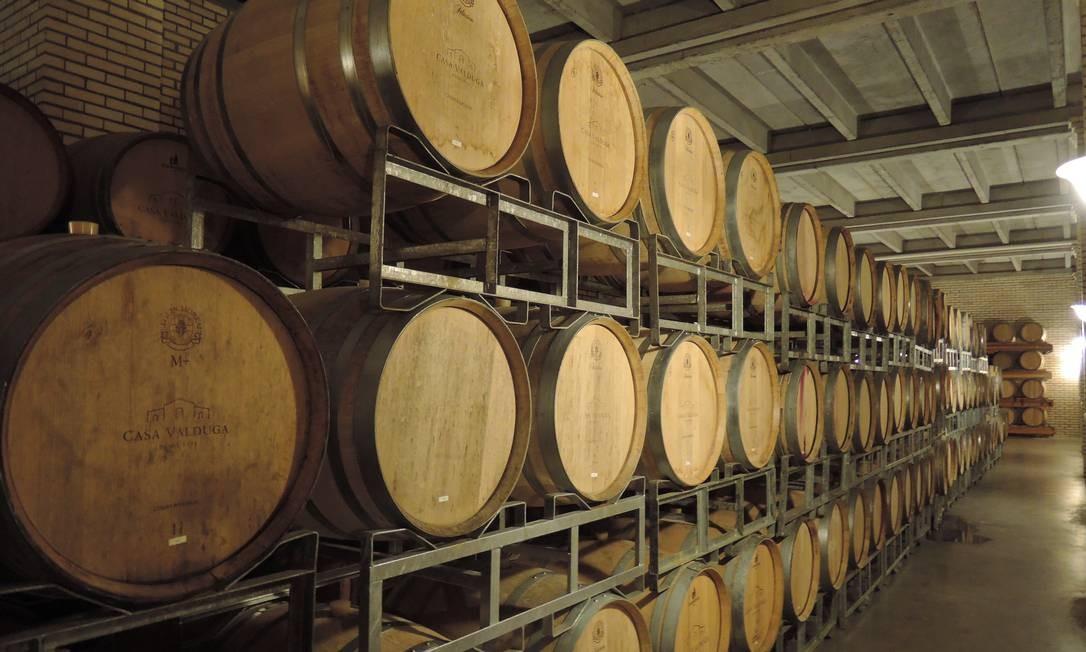 O pacote inclui ainda uma visita à área de produção da vinícola e sua adega, onde são preparados e envelhecidos vinhos tintos, brancos e espumantes Foto: Eduardo Maia / O Globo