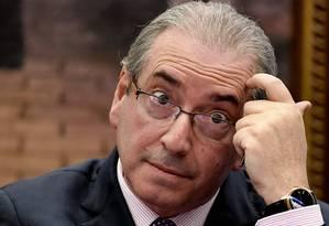 Eduardo Cunha está preso desde outubro do ano passado Foto: EVARISTO SA / AFP