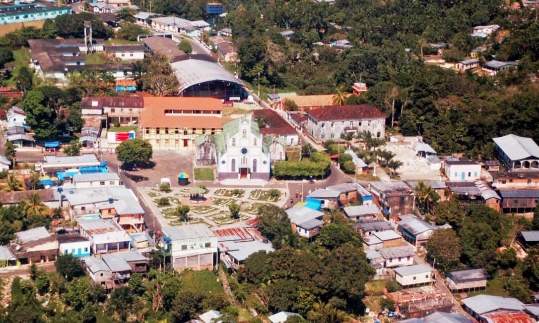 Cidade de Carauari, no Amazonas. Foto: Assembleia Legislativa AM/Divulgação Foto: /