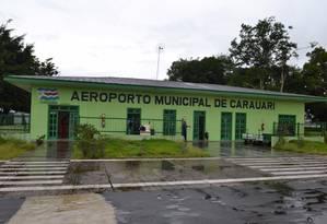 Aeroporto Municipal de Carauari. Foto: AmazonasPress / Agência O Globo