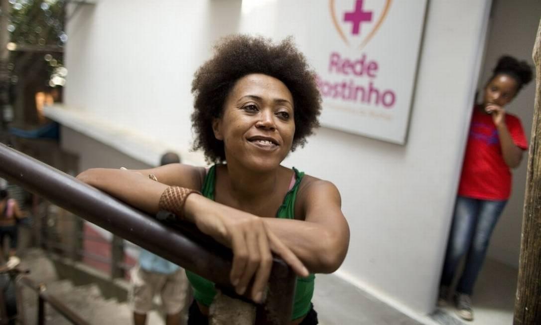 Contra depressão. Marina foi atendida pelo projeto durante sete meses: fez terapia e massagem Foto: Márcia Foletto / Márcia Foletto