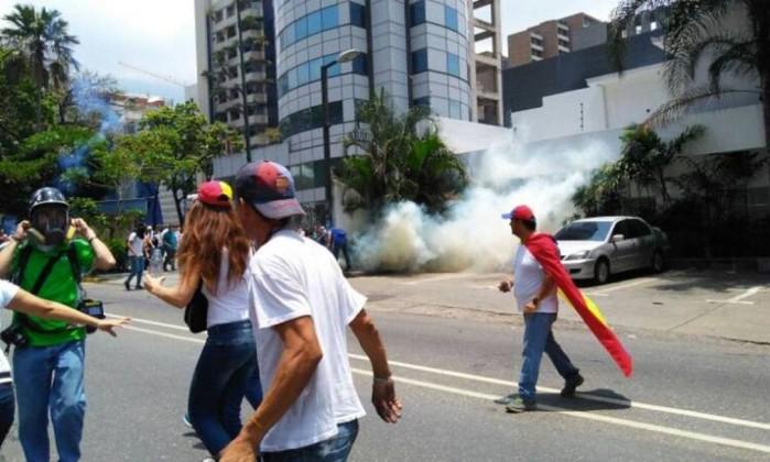 Venezuela - Maduro é vaiado durante evento em San Félix