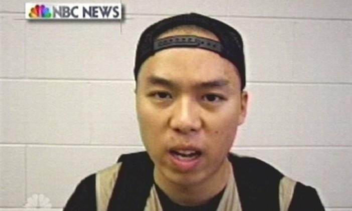 Seung-Hui Cho, de 23 anos, se suicidou com um tiro na cabeça Foto: AP