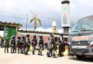 """Temer chamou de """"acidente pavoroso"""" o massacre no Complexo Penitenciário Anísio Jobim (Compaj), em Manaus Foto: Sandro Pereira / Agência O Globo"""