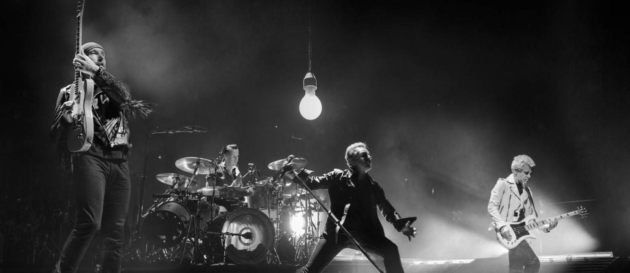 A banda irlandesa U2 Foto: Divulgação