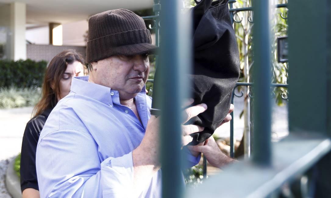Na mesma operação desta terça-feira, a Fatura Exposta, também foi preso o empresário Gustavo Estellita Cavalcanti Pessoa. Foto: Pablo Jacob / O Globo
