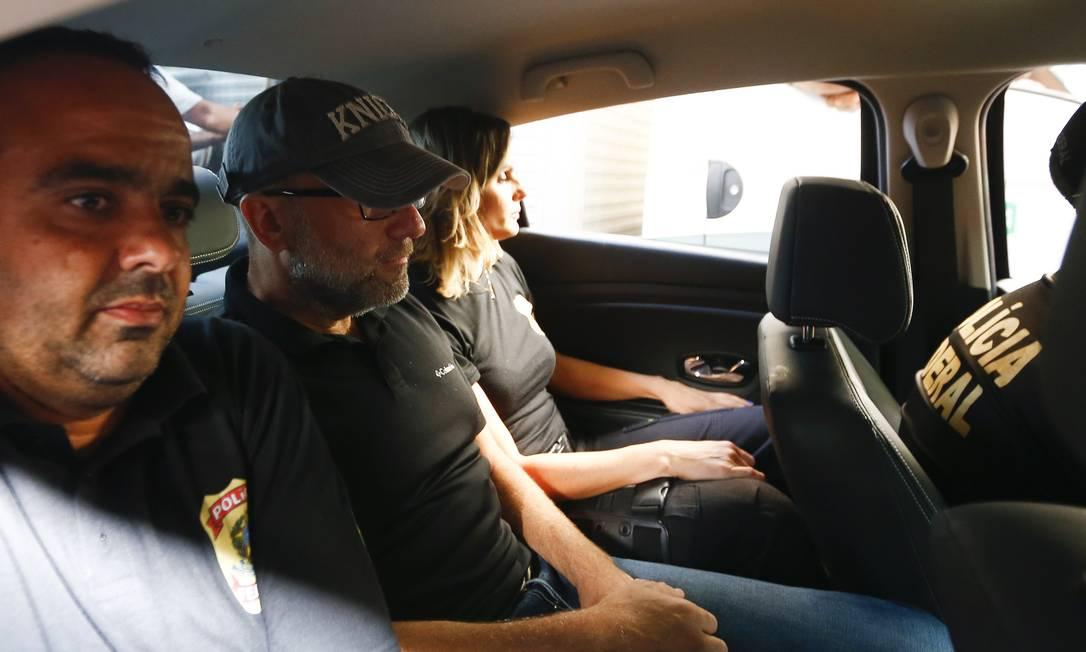 O ex-secretário de Saúde do Rio Sérgio Côrtes foi preso na manhã desta terça-feira, alvo da Operação Fatura Exposta. Foto: Pablo Jacob / O Globo
