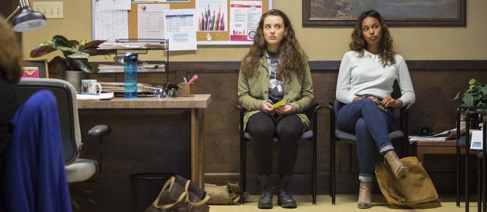 Cena da série '13 reasons why' Foto: Beth Dubber/Netflix