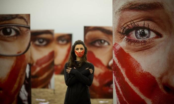 Manifestação contra violência sexual Foto: Márcia Foletto