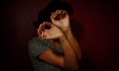 Mulher agredida psicologicamente Foto: Daniel Marenco