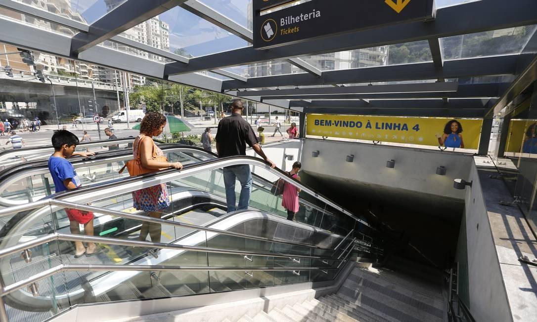 440239d19a O metrô vai funcionar em horário especial no feriado Foto  Pablo Jacob    Agência O