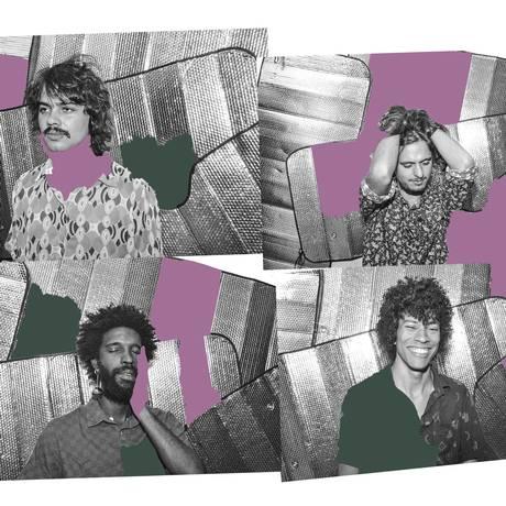 A banda goiana Boogarins Foto: Beatriz Perini / Divulgação