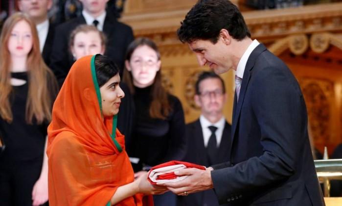 Malala nomeada mensageira de paz da ONU