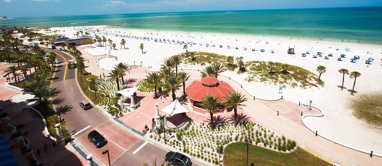 Praia de Clearwater, considerada a melhor dos EUA pelo TripAdvisor Foto: Nicholas A Collura-Gehrt / Extra
