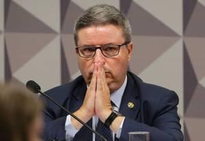 Anastasia na Comissão Especial do Impeachment de Dilma Rousseff para ouvir testemunhas de acusação Foto: Ailton de Freitas / Agência O Globo - 07/06/2016