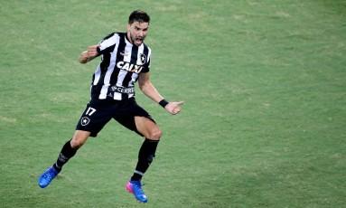 Rodrigo Pimpão é o prinicpal jogador do Botafogo nesta Libertadores Foto: Satiro Sodré/SSPress/Botafogo / Satiro Sodré/SSPress/Botafogo