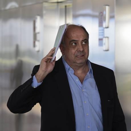 Executivo da Odebrecht, Hilberto Mascarenhas cogitou levar máquina para o Panamá Foto: Jorge William / Agência O Globo