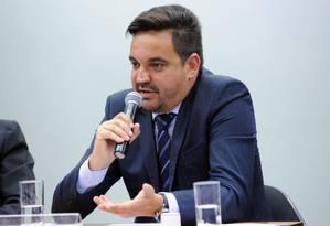 O sobrinho de Lula, Taiguara Rodrigues dos Santos, participa de audiência pública Foto: LUCIO BERNARDO JR / Câmara dos Deputados