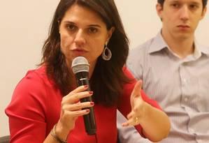 Giovanna Victer, secretária de Planejamento: pasta vai coordenar seleção de trainees Foto: Guilherme Pinto / Agência O Globo