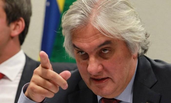 O ex-senador Delcídio Amaral saiu da prisão ano passado após acordo de delação premiada Foto: Ailton de Freitas