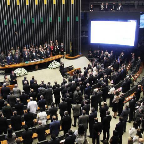 Deputados e senadores estudam forma de evitar condenação na Lava-Jato Foto: Ailton de Freitas/01-02-2017 / Agência O Globo