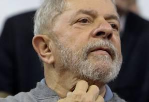 O ex-presidente Luiz Inácio Lula da Silva Foto: MIGUEL SCHINCARIOL / AFP / 9-9-2016