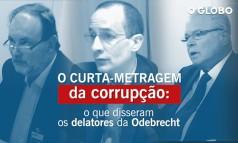 O curta-metragem da delação da Odebrecht: O que os delatores disseram Foto: Reprodução
