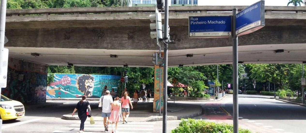A esquina onde Miguel Ayoub Zakhour foi morto numa tentativa de assalto Foto: Cutódio Coimbra / Agência O Globo