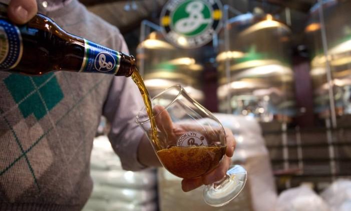 Brooklyn Brewery, em Nova York Foto: Malcolm Brown / NYC & Company/Divulgação