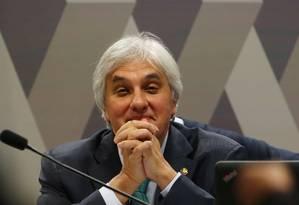 Delcídio Amaral teria recebido R$ 5 milhões da Odebrecht para campanha em 2014 Foto: Ailton de Freitas/09/05/2016 / Agência O Globo