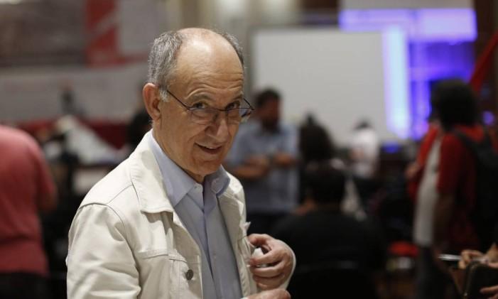 Rui Falcão, presidente nacional do Partido dos Trabalhadores Foto: Edilson Dantas / Agência O Globo