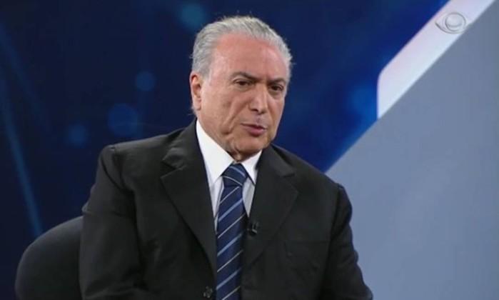 Cunha diz que Temer agendou reunião direto com Odebrecht