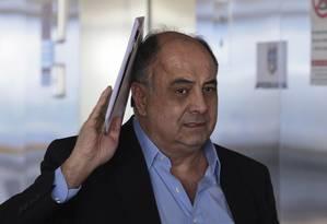 Hilberto Mascarenhas, apontado como o líder do Departamento de Propinas da Odebrecht Foto: Jorge William / Agência O Globo