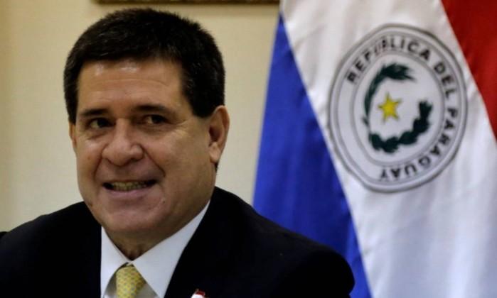 Presidente do Paraguai anuncia que não tentará se reeleger