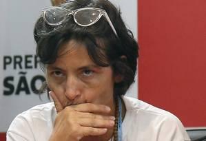 Soninha Francine, que deixou a Secretaria de Assistência Social da prefeitura de São Paulo Foto: Edilson Dantas / Agencia O Globo