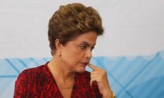 A ex-presidente Dilma Rousseff Foto: Aílton de Freitas / 11-1-2016