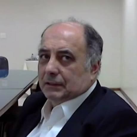 Hilberto Mascarenhas, delator que chefiava o Setor de Operações Estruturadas Foto: Reprodução vídeo