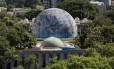 O Planetário, na Gávea