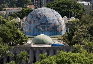 O Planetário, na Gávea Foto: Ana Branco / Agência O Globo