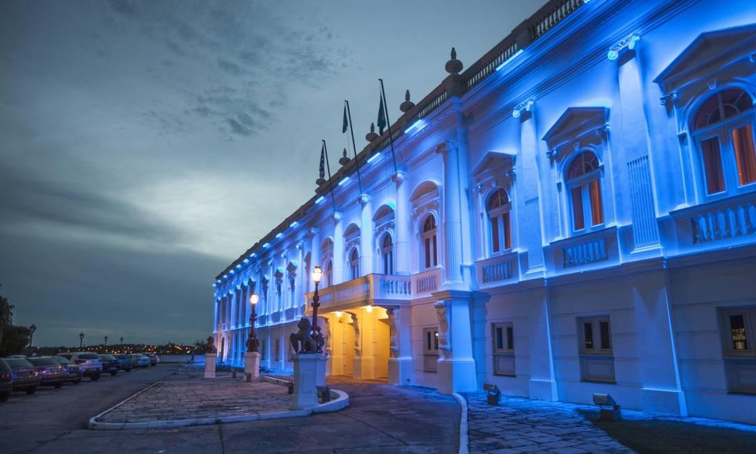 Roteiro no centro inclui visita ao Palácio dos Leões, sede do governo de São Luís. Foto: Elisa Martins / Elisa Martins